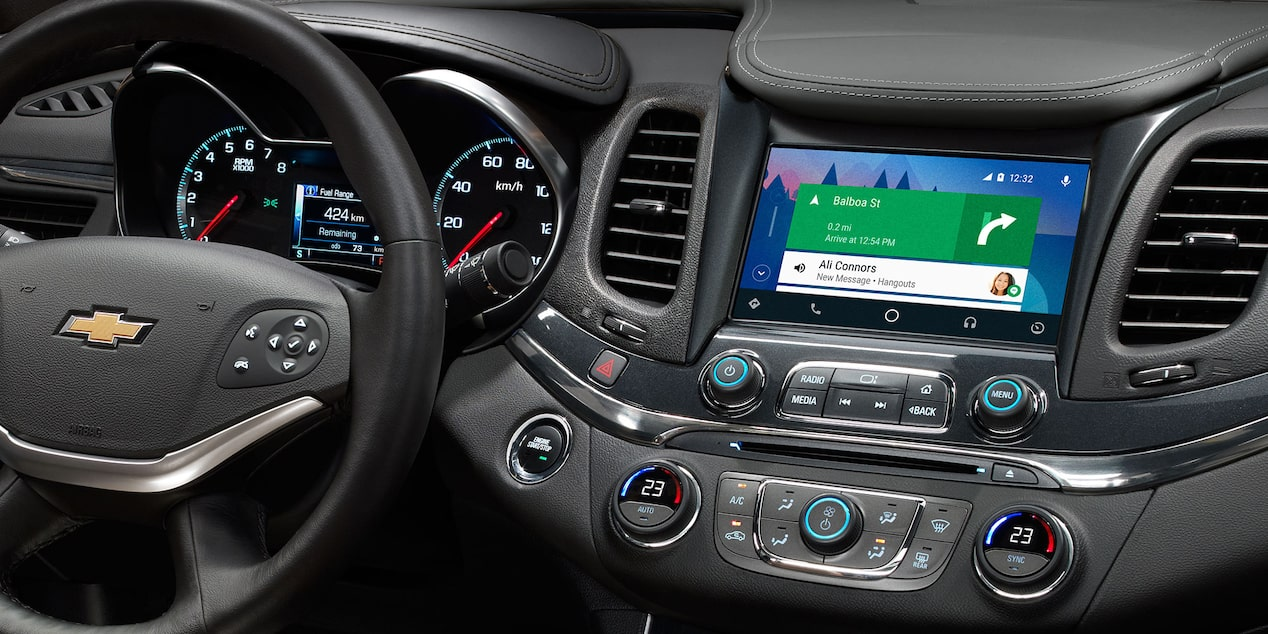 2019 Impala Full-Size Car Technology:  8-inch diagonal touch-screen display