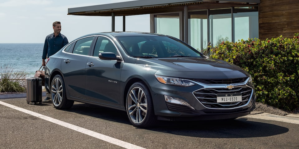 2019 Malibu Midsize Car Design: Front View