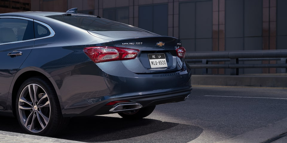 2019 Malibu Midsize Car Design: Rear view