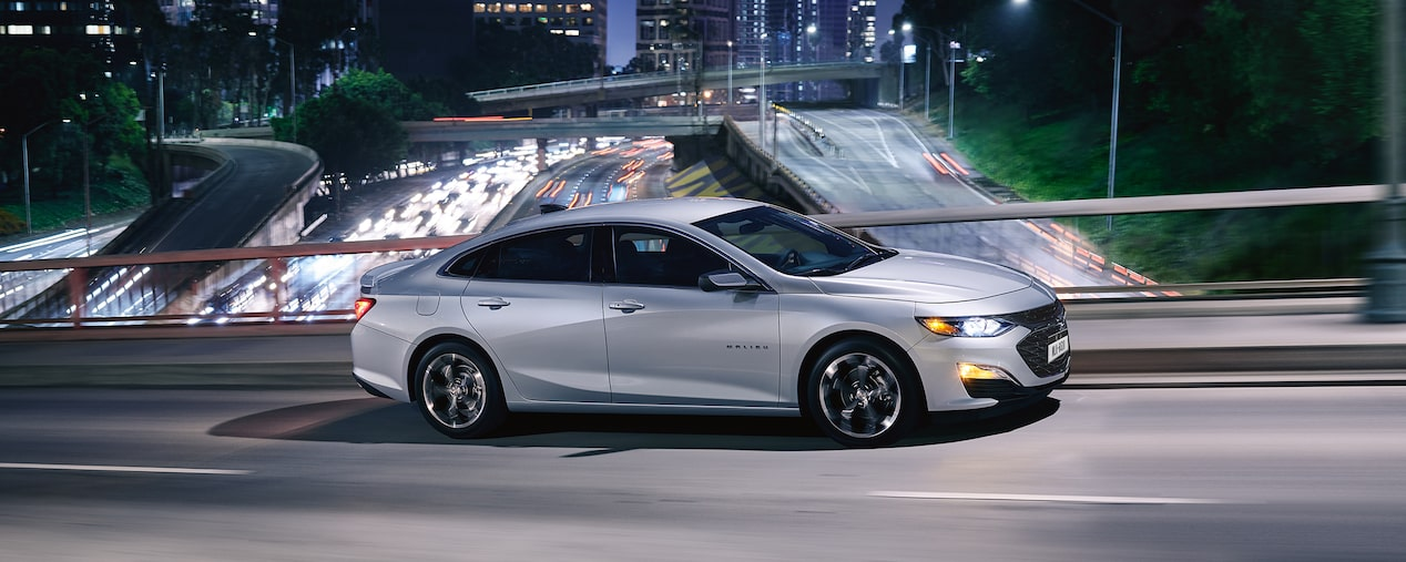 2019 Malibu Midsize Car Performance: Side profile