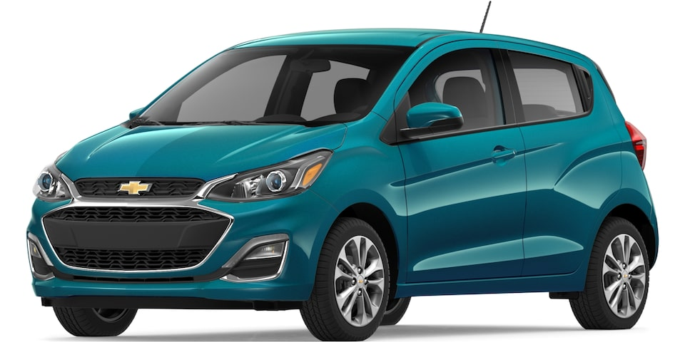 2019 Spark in Caribbean Blue Metallic