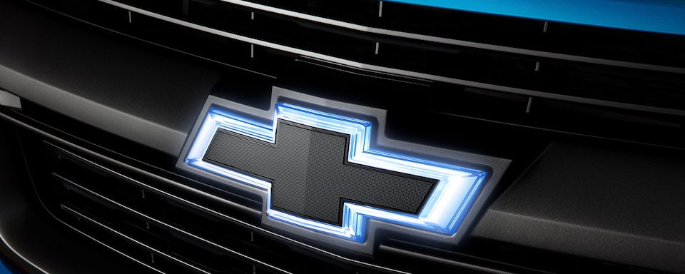 Chevrolet Black Illuminated Bow Tie