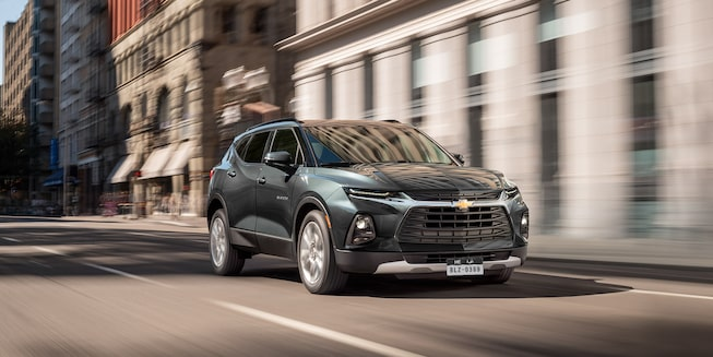 2020 Chevrolet Blazer Sporty SUV Side Exterior