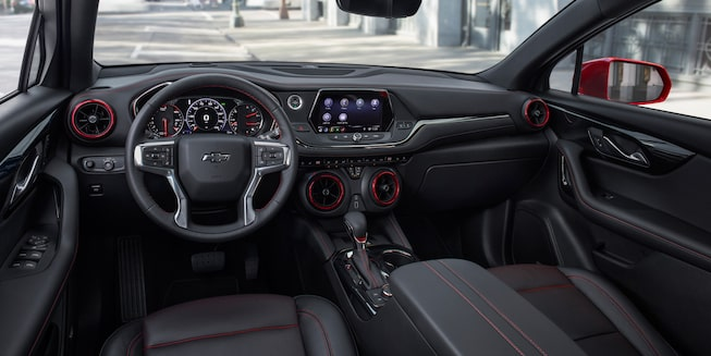 2020 Chevrolet Blazer Sporty SUV Shifter