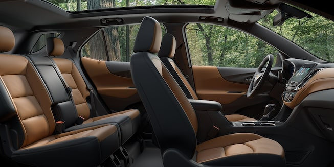 2020 Equinox Small SUV interior seating