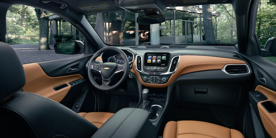 2019 Equinox Small SUV Design : Interior seating