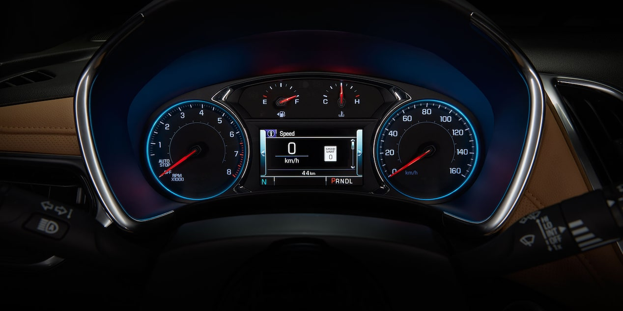 2019 Equinox Small SUV Design : Speedometer