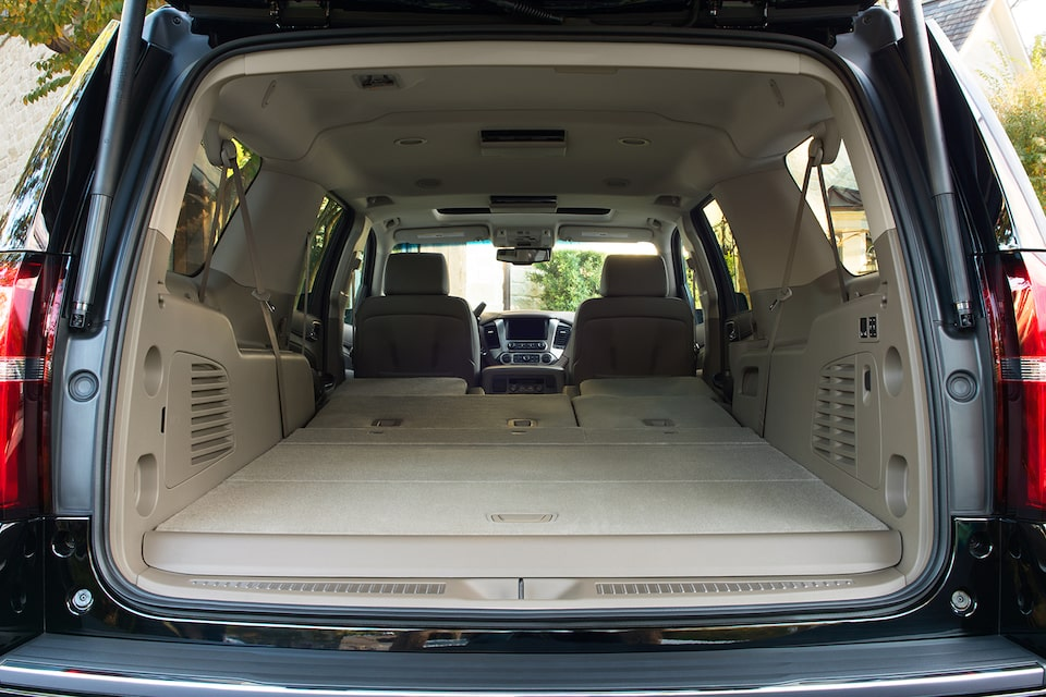 2019 Suburban: Interior photo Rear Shot
