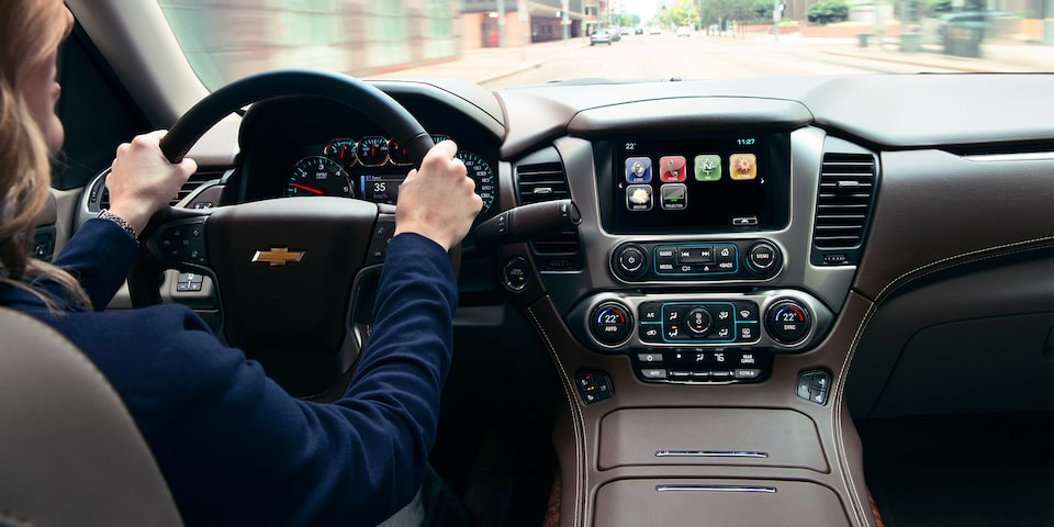 2019 Suburban Chevrolet Infotainment Screen