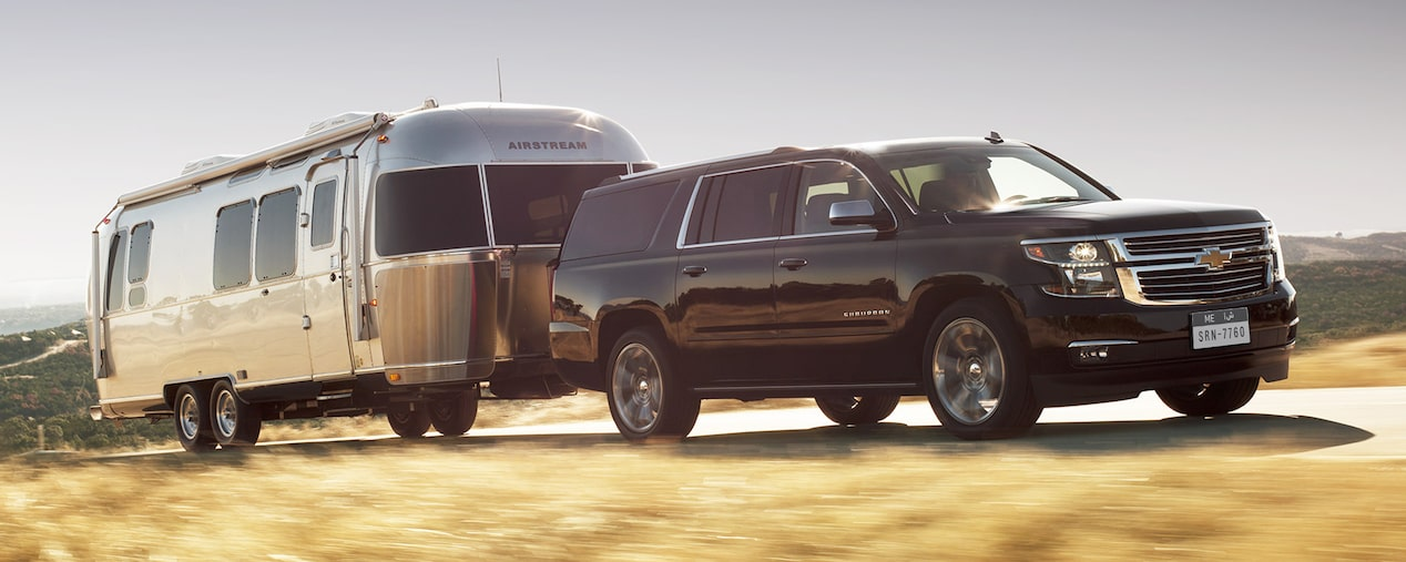 2019 Suburban SUV Performance:  Towing