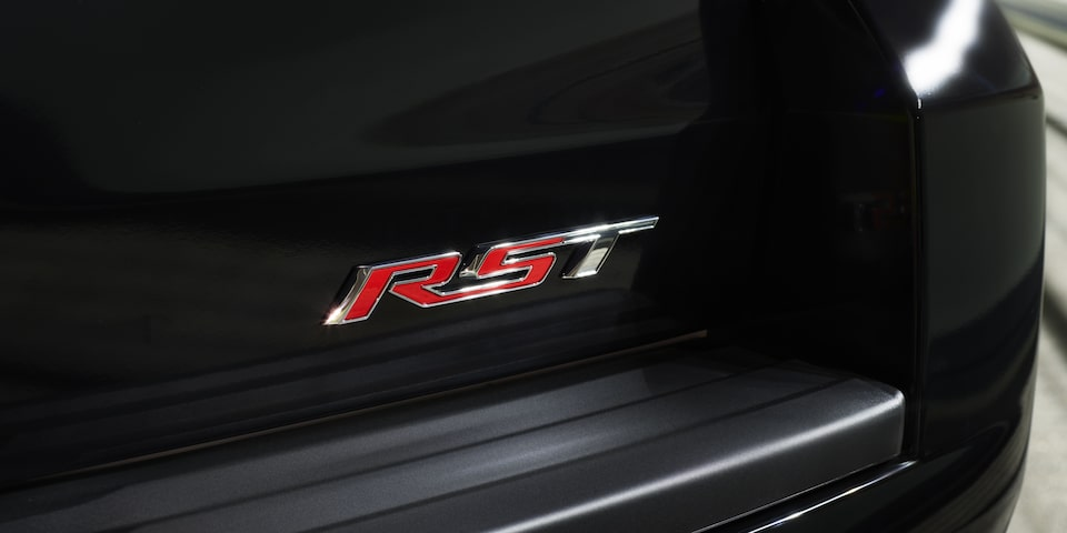 Tahoe RST Badge