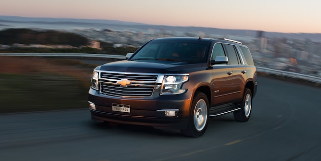 2019 Tahoe Full-Size SUV Exterior Photo: front view