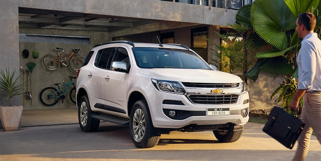 2019 Trailblazer Best 7-Seater SUV: exterior design