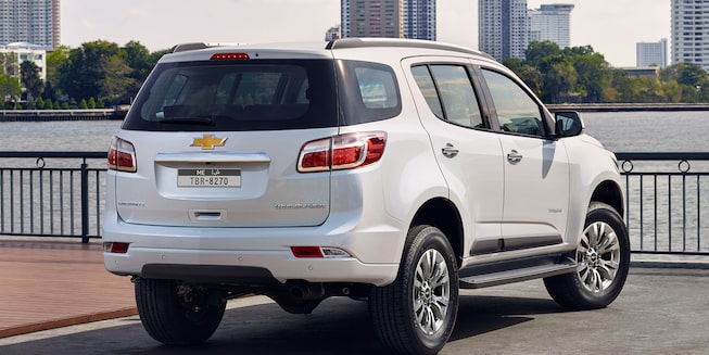 2019 Trailblazer Best 7-Seater SUV: rear