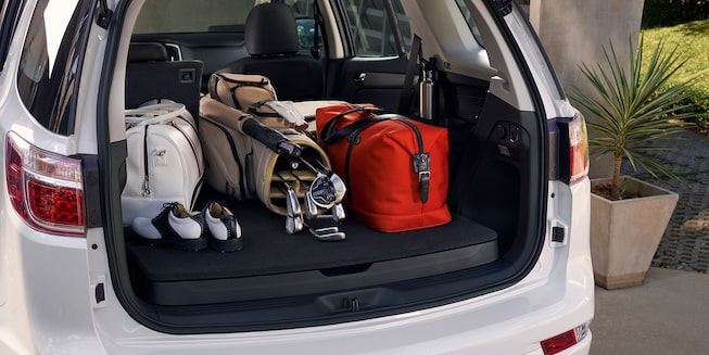 2019 Trailblazer Best 7-Seater SUV: storage capacity