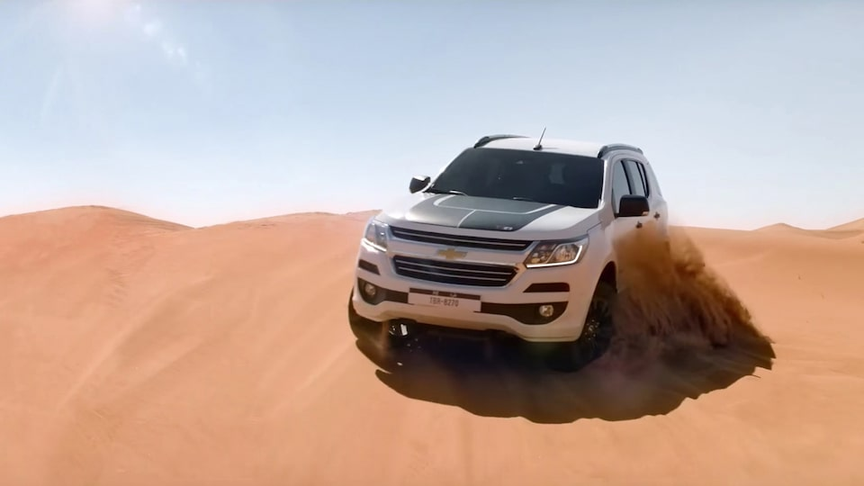 Chevrolet Trailblazer: ready for Anywhere