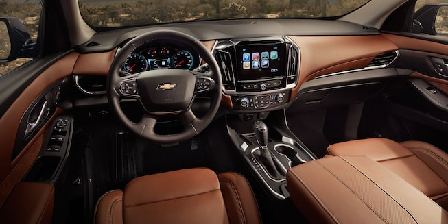 2019 Traverse Midsize SUV Interior Photo:  display