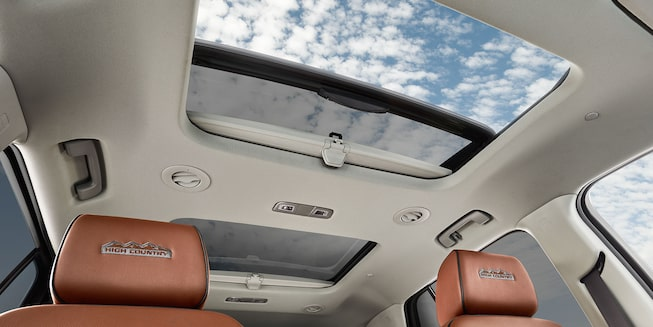 2019 Traverse Midsize SUV Interior Photo:  sun-roof