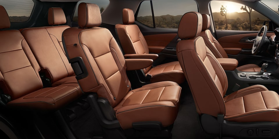 2019 Traverse Midsize SUV: Interior seats