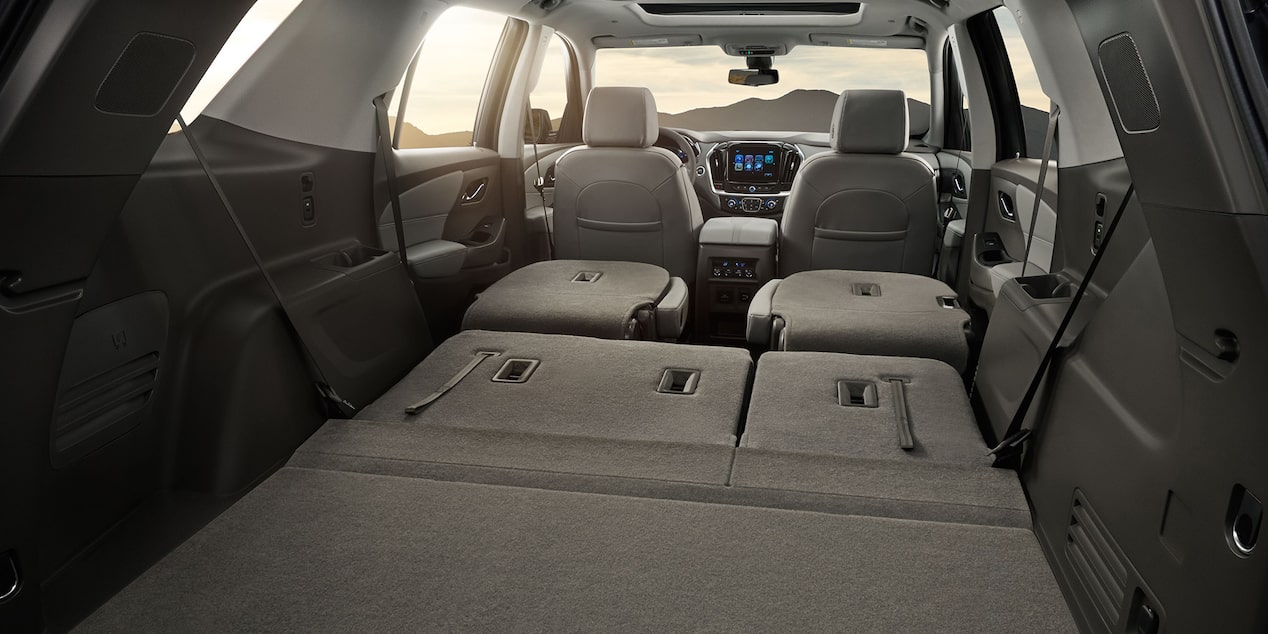 2019 Traverse Midsize SUV: Fold Down Seats