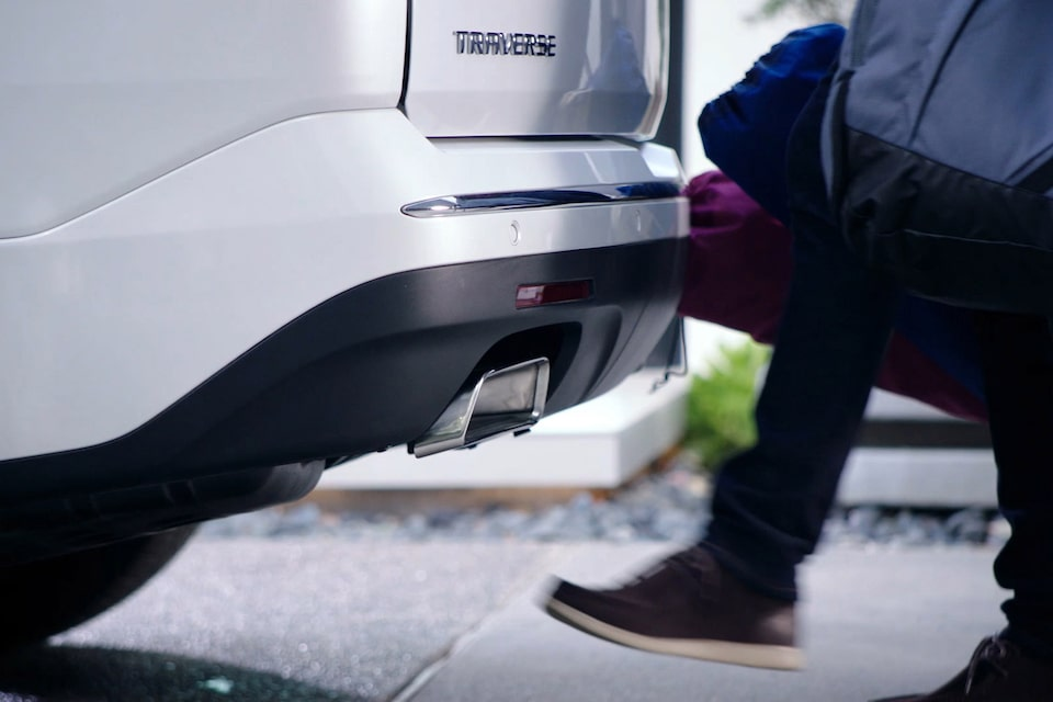 2019 Traverse Midsize SUV: Hands-free liftgate