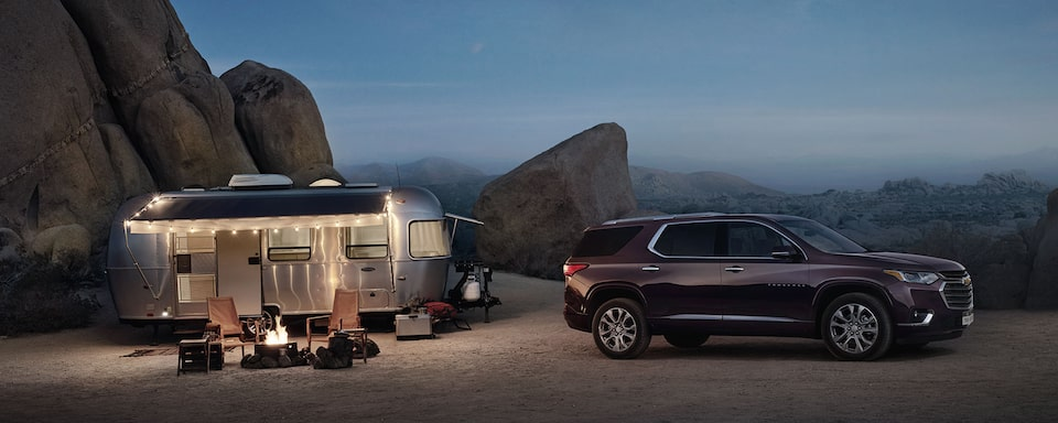 2019 Traverse Midsize SUV Performance: Towing