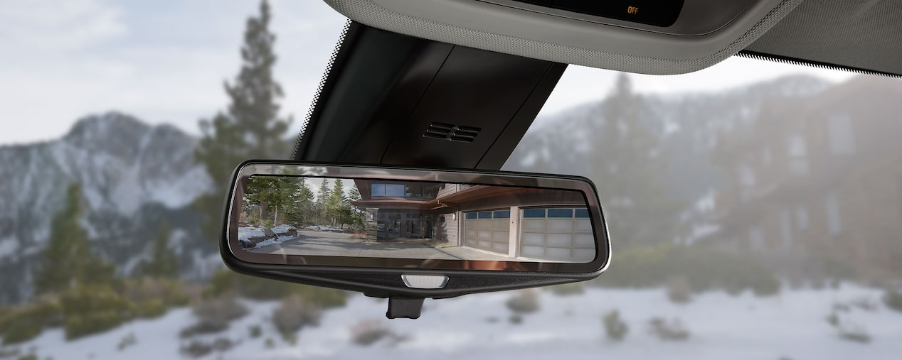 2019 Traverse Mid Size SUV Safety:Rear  Mirror