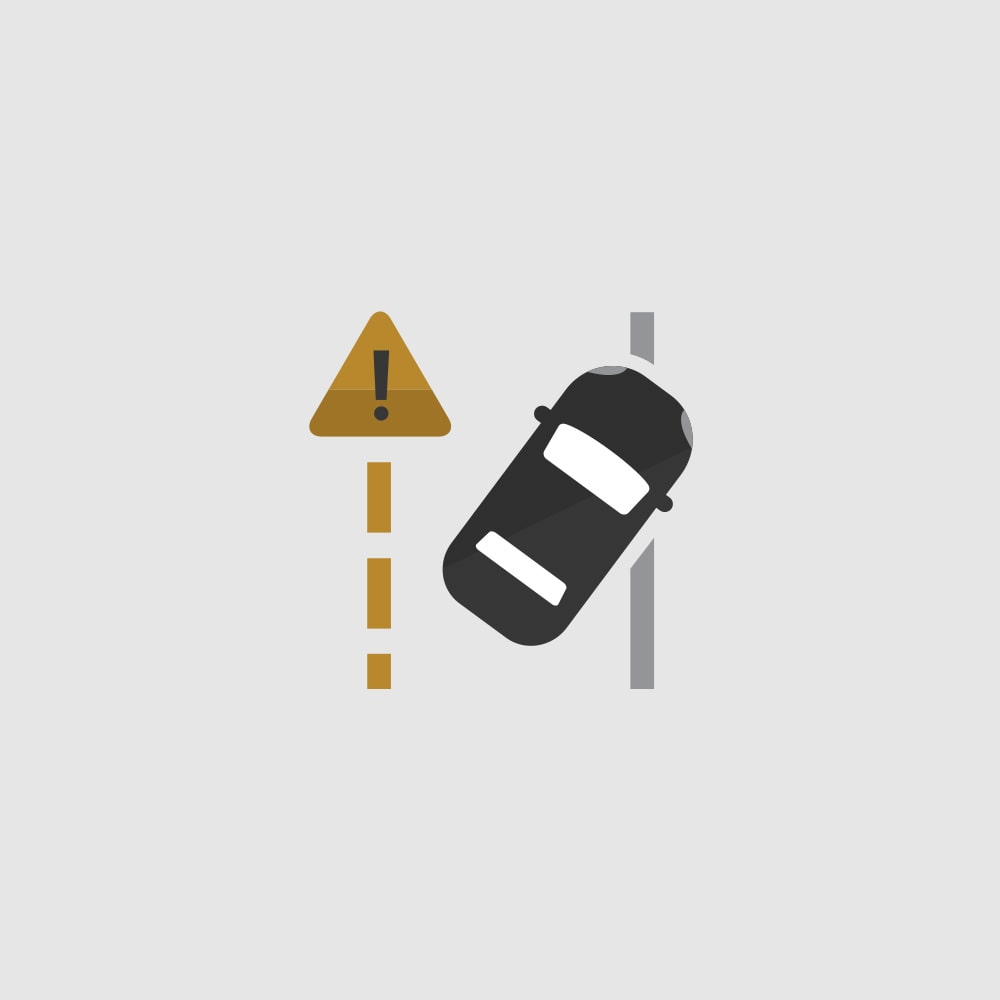CHEVROLET SAFETY: LANE KEEP ASSIST WITH AVAILABLE LANE DEPARTURE WARNING