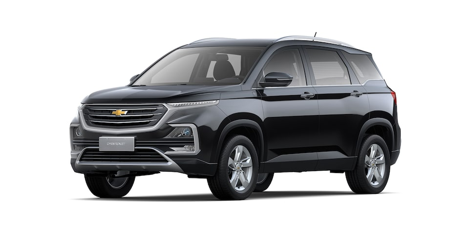 Captiva SUV Crossover Exterior color Exterior CGI: Front side view