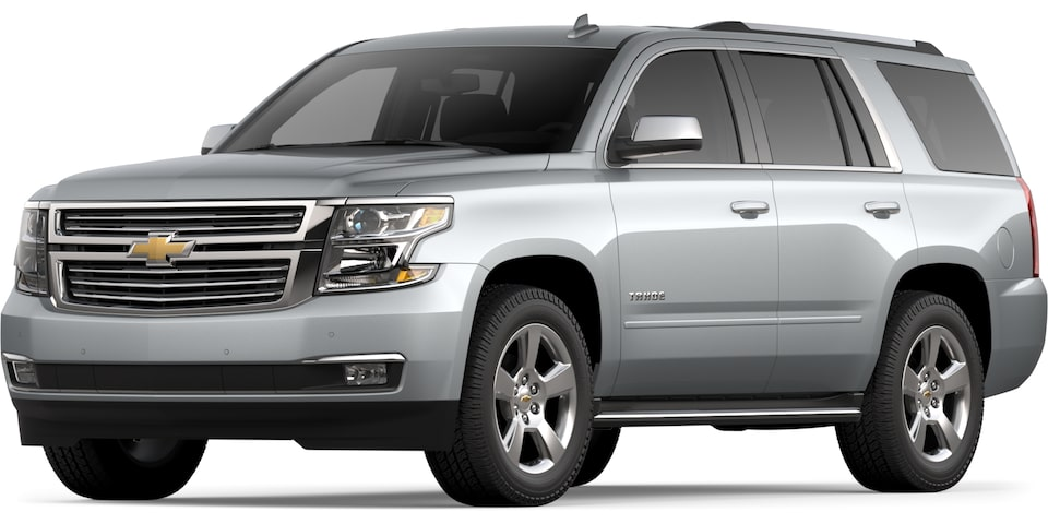 2019 Tahoe in Silver Ice Metallic