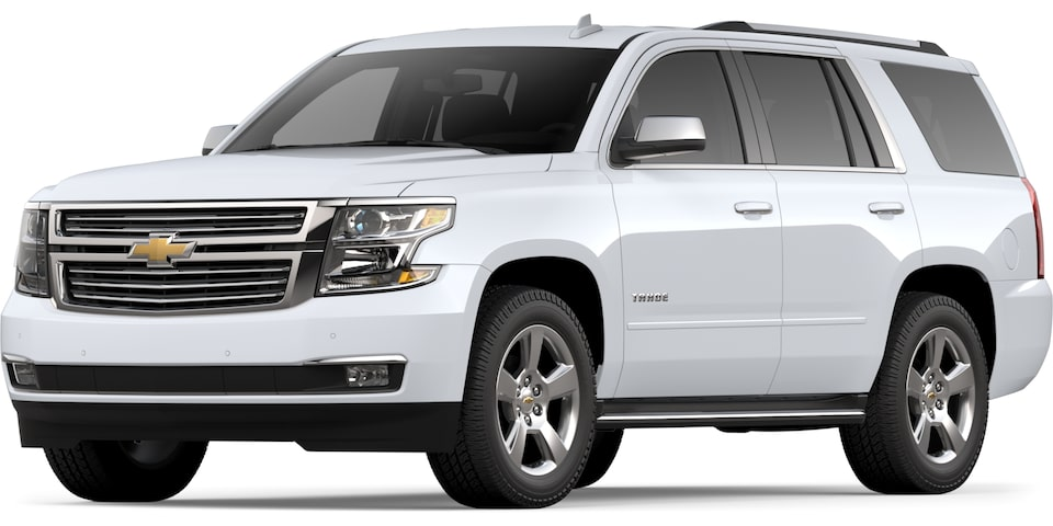 2019 Tahoe in Summit White