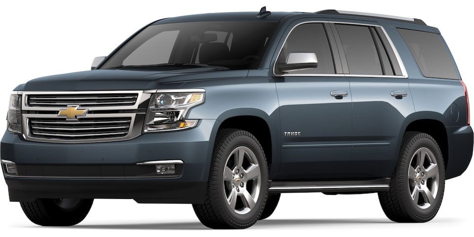 2020 Tahoe in Tungsten Metallic