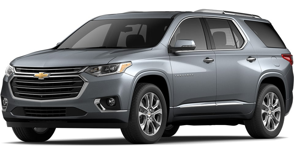 2020 Traverse in Satin Steel Metallic