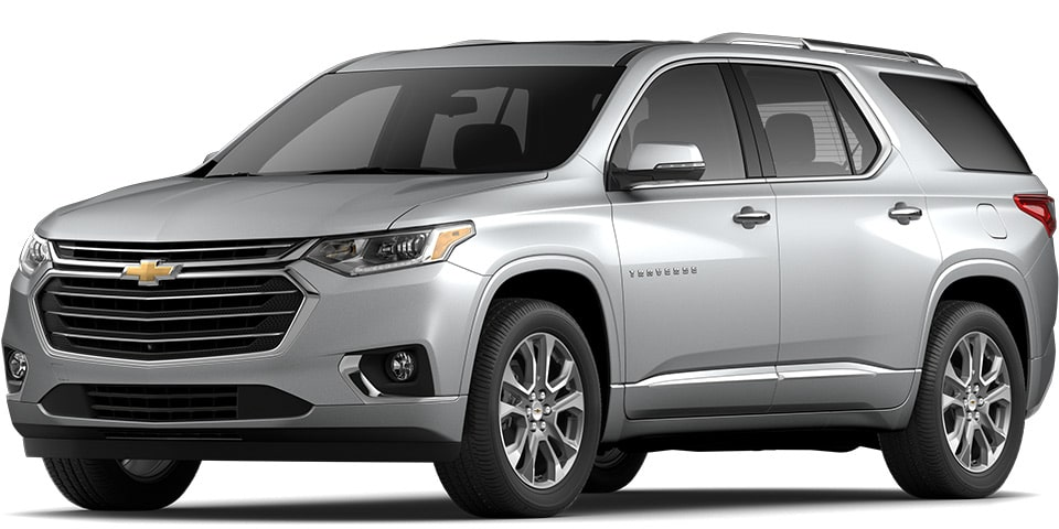2020 Traverse in Silver Ice Metallic