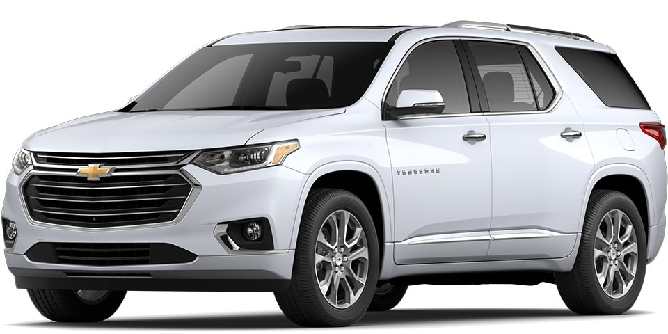 2020 Traverse in Summit White