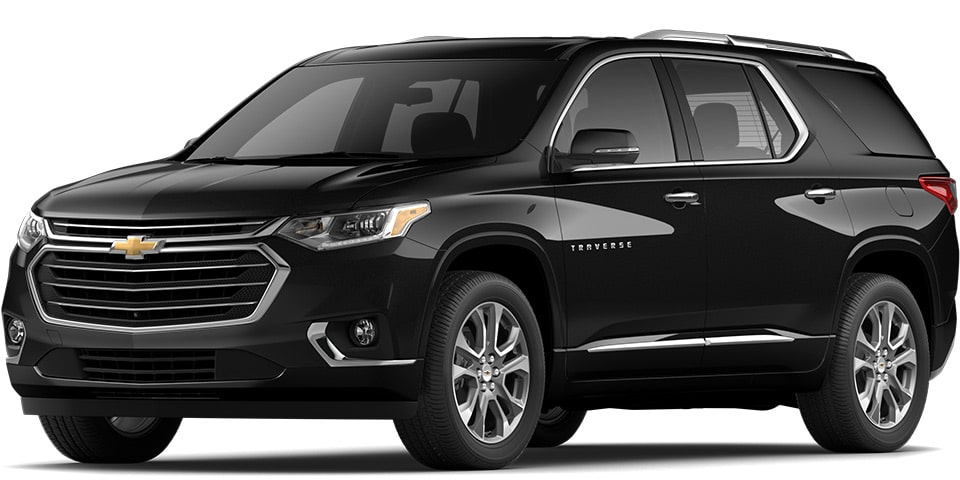 2020 Traverse in Mosaic Black Metallic