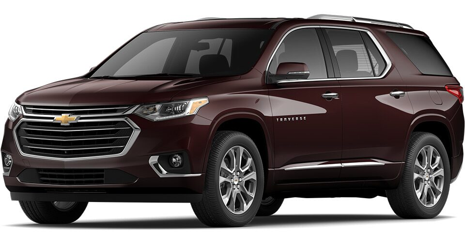 2020 Traverse in Black Cherry Metallic