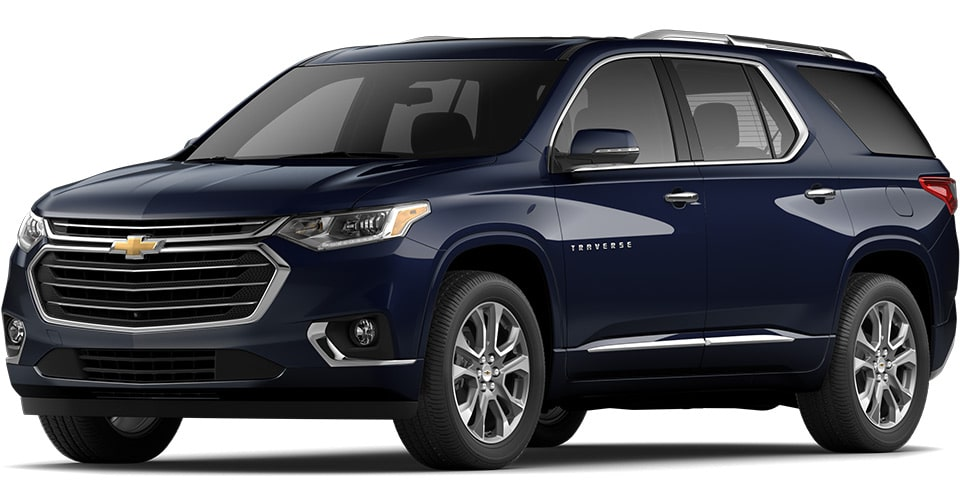 2020 Traverse in Midnight Blue Metallic