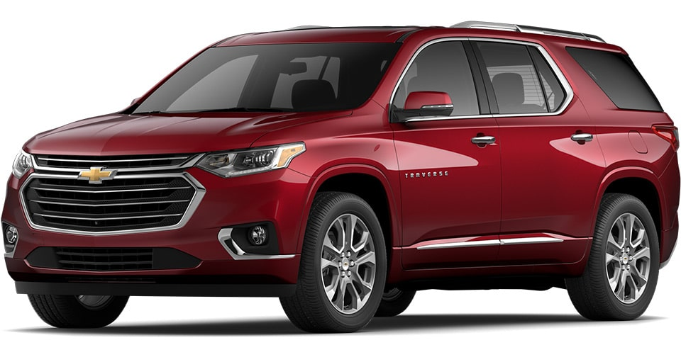 2020 Traverse in Cajun Red Tintcoat