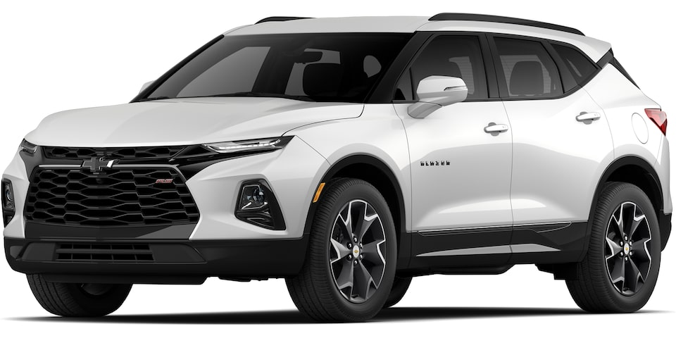 2021 All-New Blazer Sporty SUV: RS front view