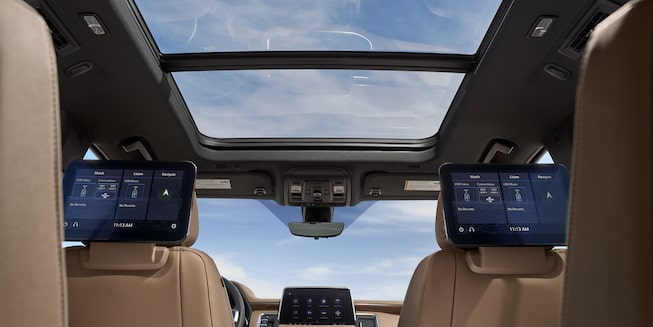 2021 Suburban Interior Panoramic Sunroof