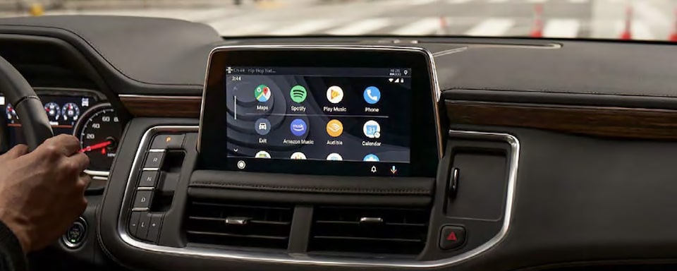 2021 Suburban technology infotainment