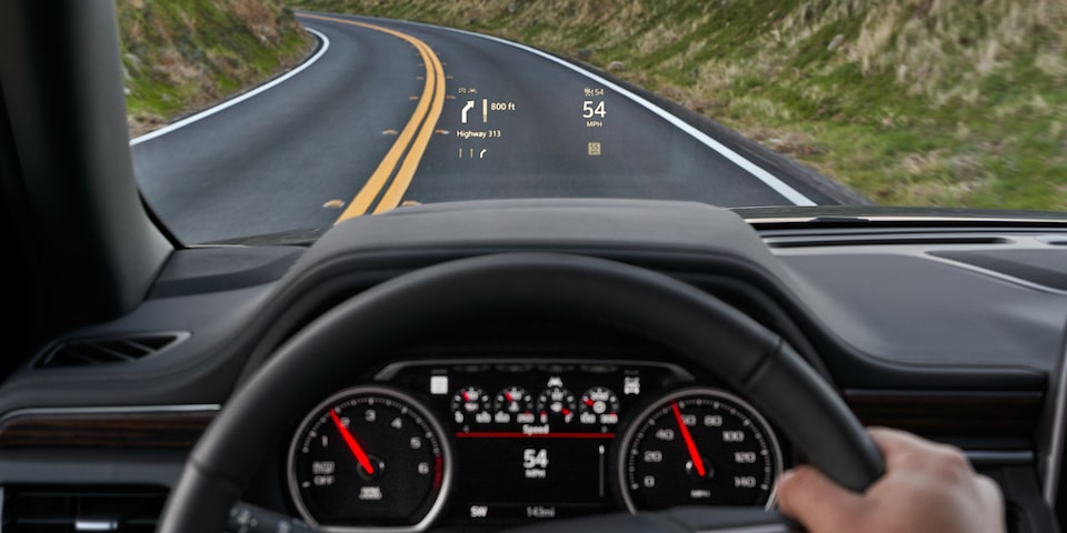 2021 Suburban technology - back up camera