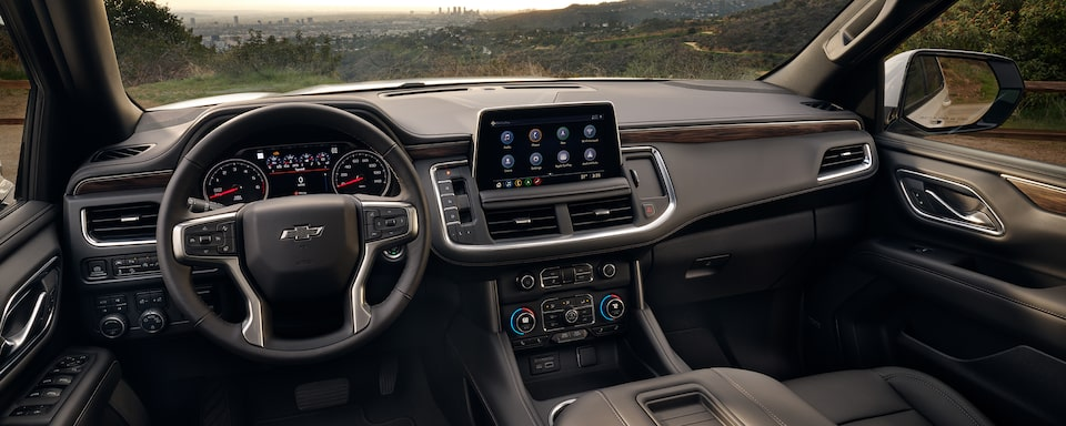 2021 Tahoe Interior Dashboard