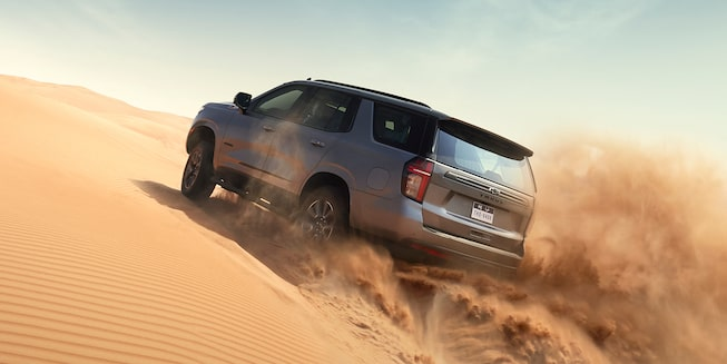 2021 Tahoe Desert Rear View