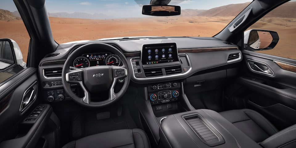 2021 Tahoe Dashboard