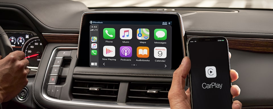 2021 Tahoe Technology Apple CarPlay