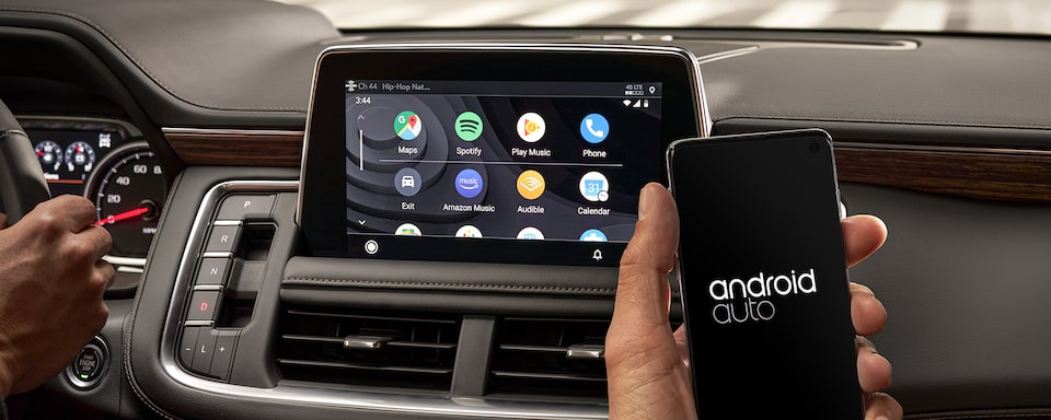 2021 Tahoe Technology Android Auto