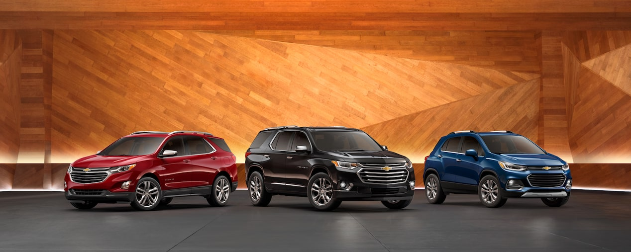 2019 Chevrolet Crossovers