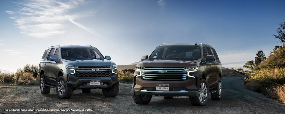 ALL-NEW TAHOE AND SUBURBAN